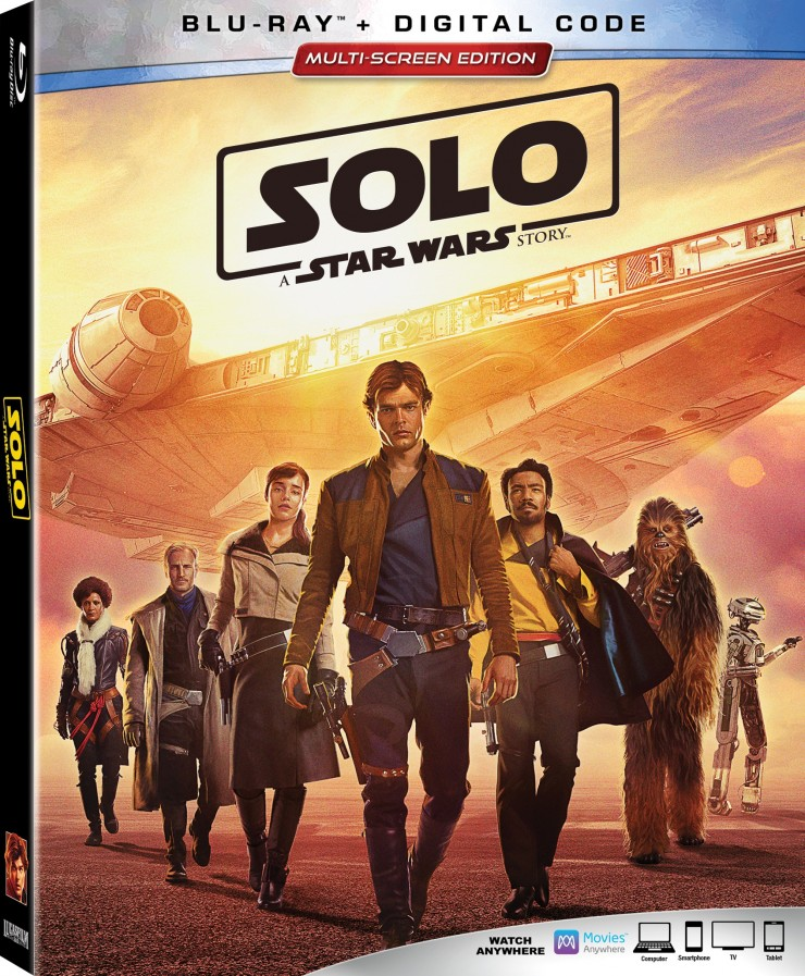 SOLO: A Star Wars Story Blu-Ray