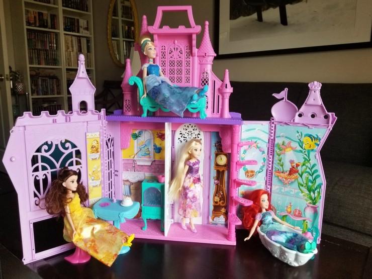 62cm Tall Castle Hasbro E1745 Brand New Disney Princess Pop up Chateau Palace