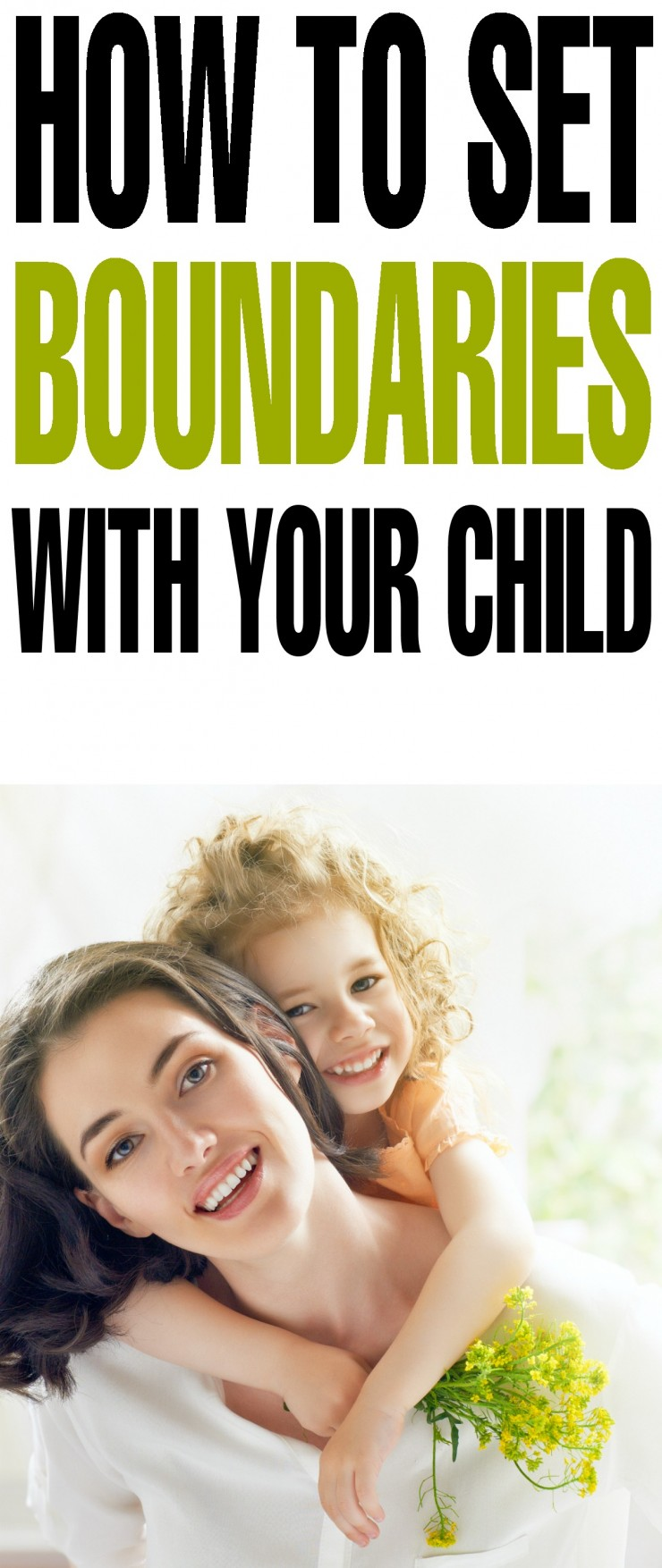 How to Set Boundaries with Your Child
