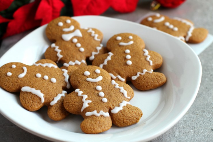 This recipe for Gluten Free Gingerbread Men Cookies results in cookies your whole family can enjoy over the holiday season.
