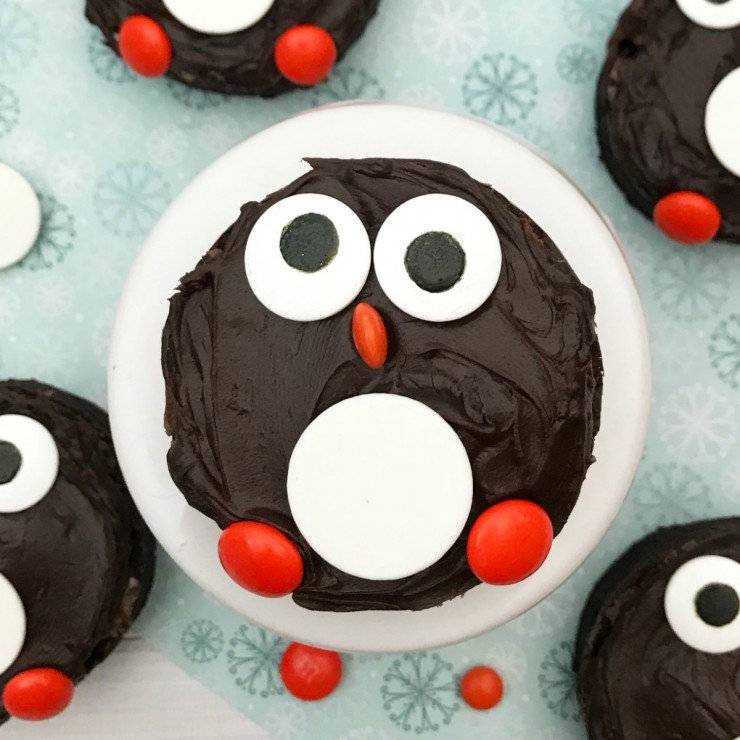 Penguin Brownies