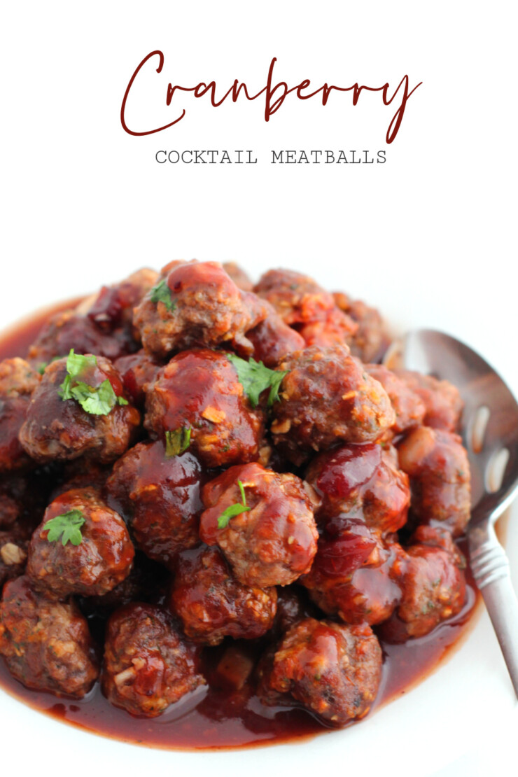 Cranberry cocktail meatballs are a holiday party staple and this recipe will never let you down. A classic recipe that never goes out of style.