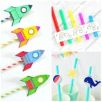 20 Silly & Fun Drinking Straw Crafts for Kids