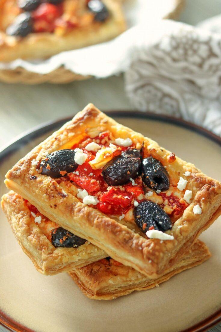 Mediterranean Red Pepper Tarts
