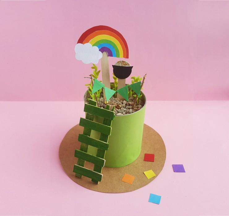 Leprechaun's Garden: St. Patrick's Day Craft