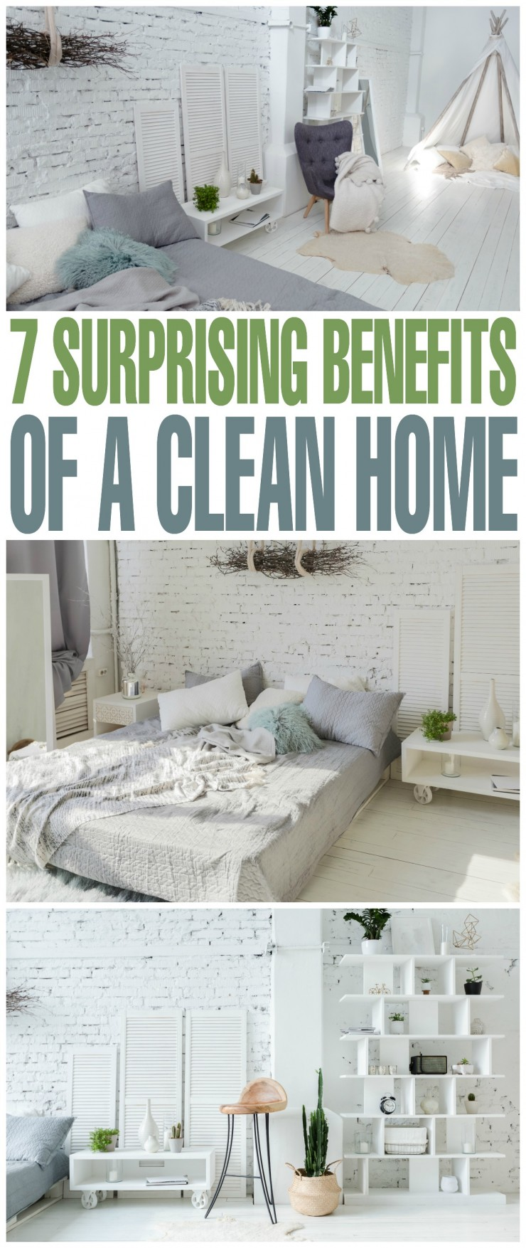 7 Surprising Benefits of a Clean Home
