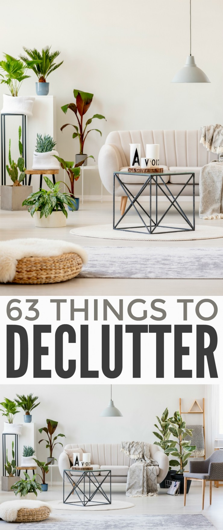 There are several things you can declutter right now to change the way you live and reduce your stress: 63 Things to Declutter Right Now