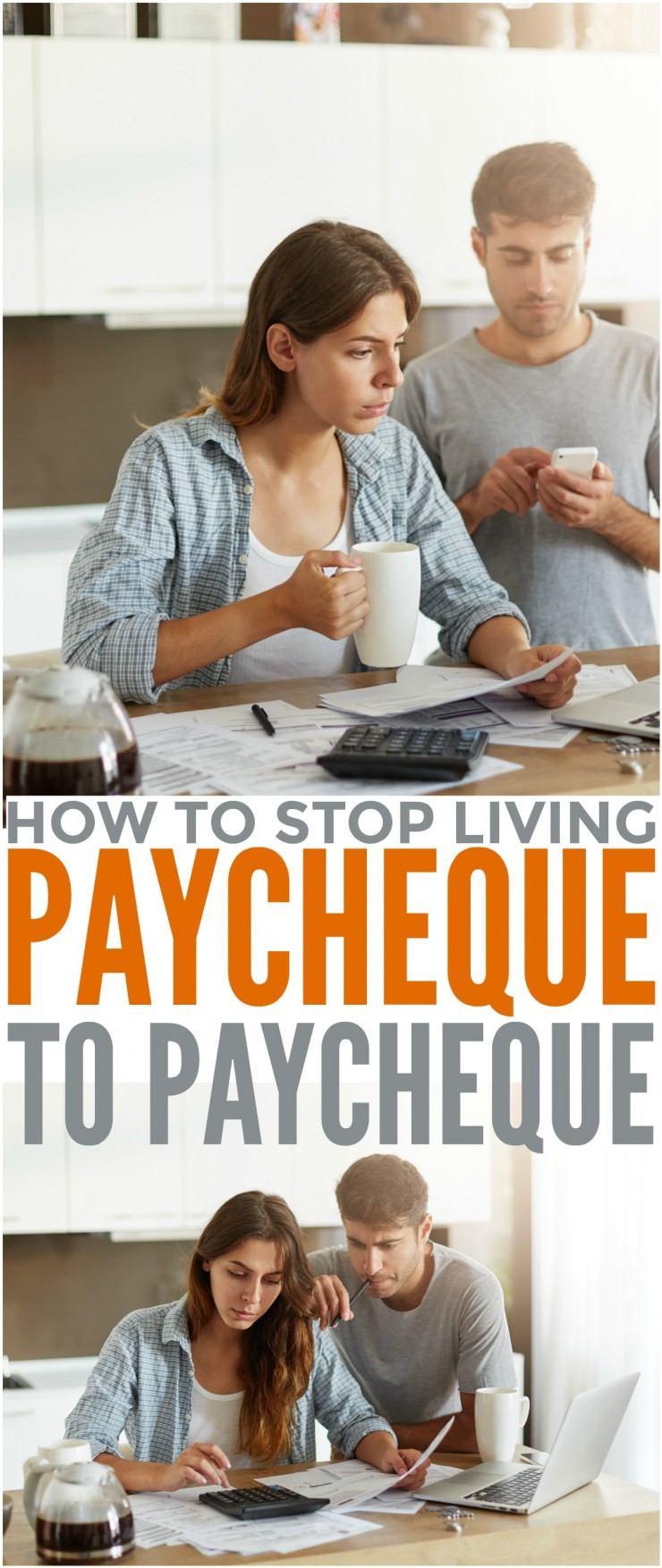 How to Stop Living Paycheque to paycheque: I want to help you reach the point in life where you are no longer living that paycheck to paycheck cycle and are instead blissfully saving and no longer stressing about money.