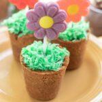 Spring Flower Pot Desserts