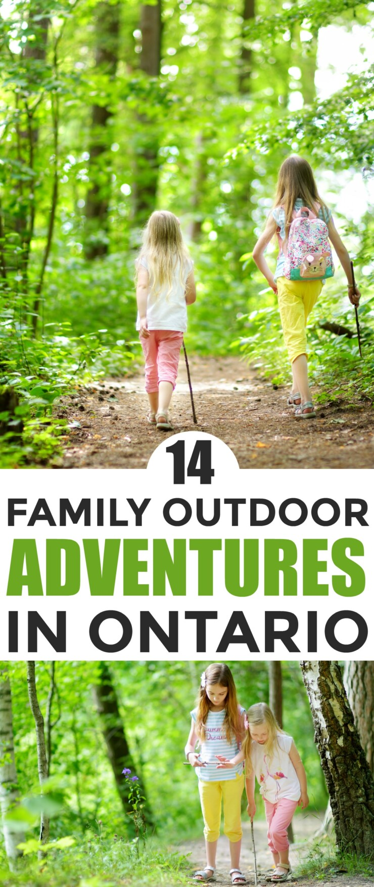 If your family loves participating in exciting, new outdoorsy activities, Ontario is the perfect place for you to discover. Finding family outdoor adventures in Ontario is not a difficult task, especially with so many to choose from spread across this large province.