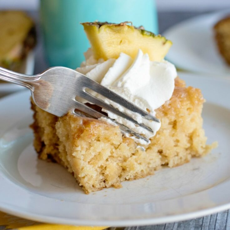 Pineapple Poke Cake