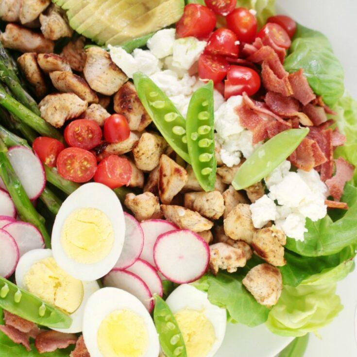 Spring Turkey Cobb Salad