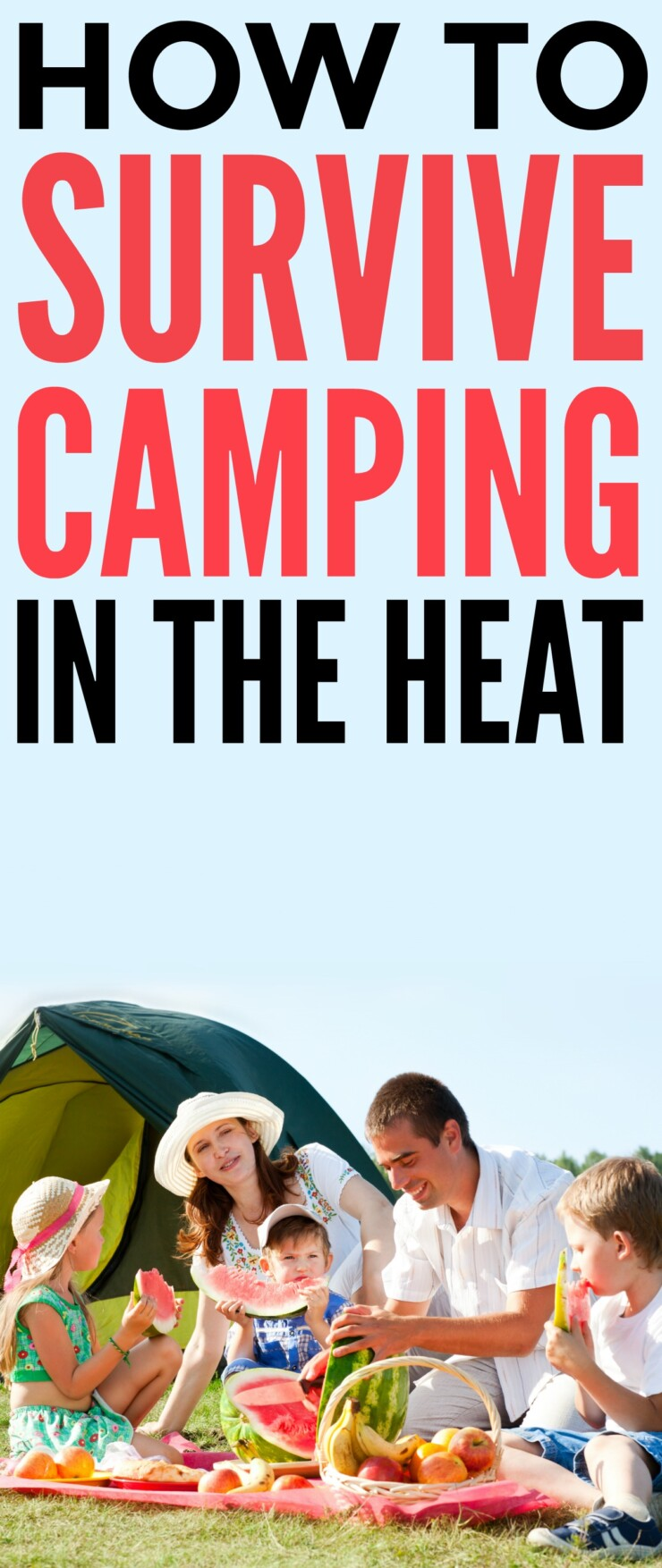 Thankfully there are ways to survive camping in the heat, allowing for an excellent night's rest in preparation for many adventures in the great outdoors.