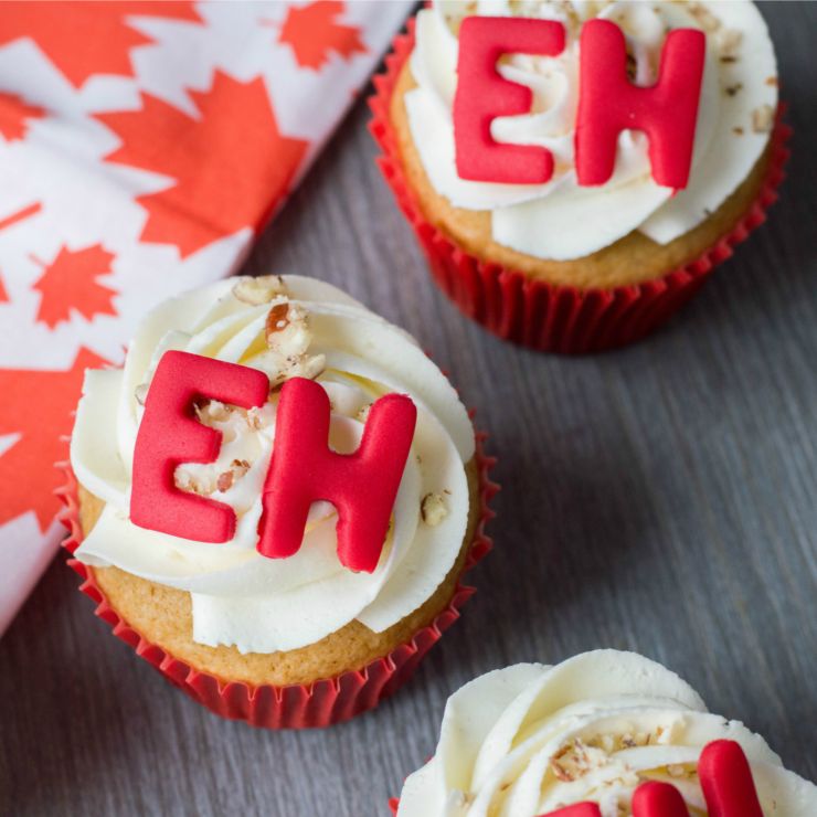Maple Eh Cupcakes