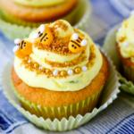 Lemon Beehive Cupcakes