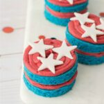 4th of July Mini Cakes