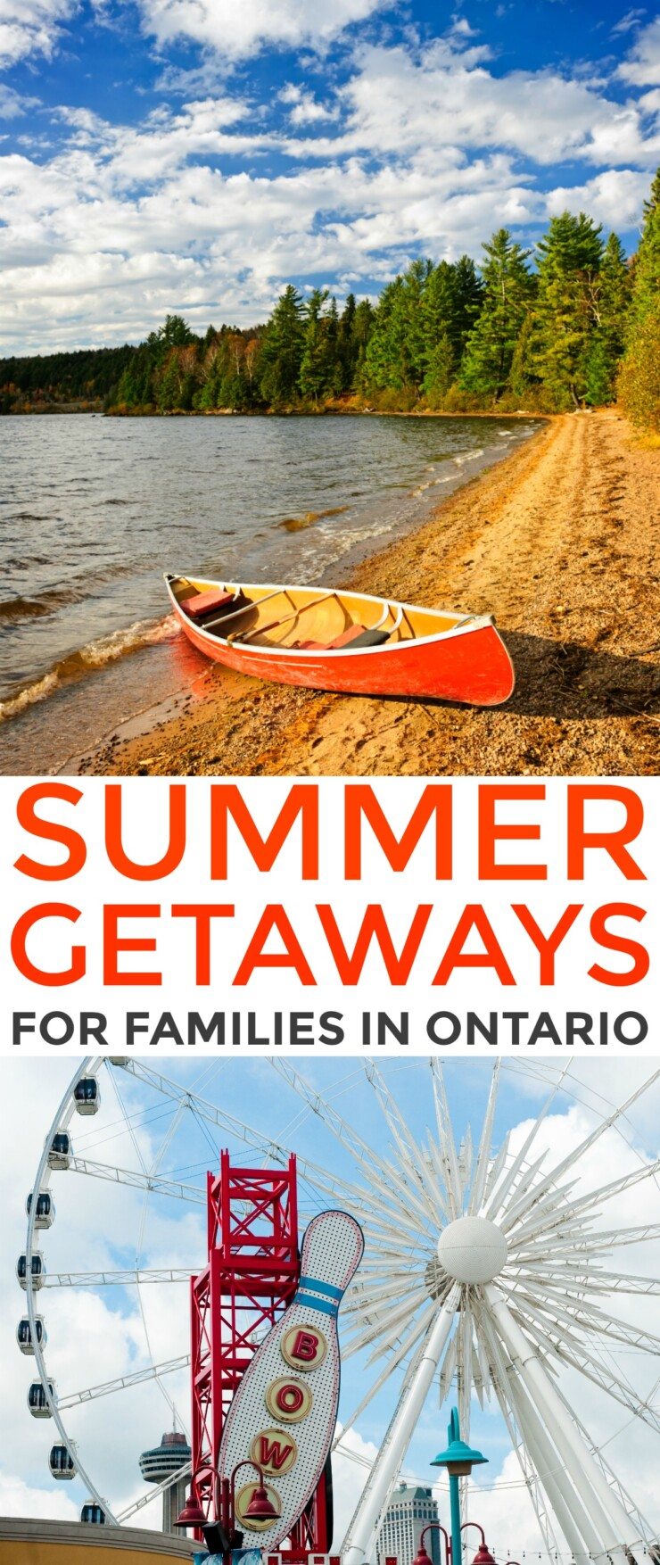 While Canadians, especially those in Ontario do not usually experience a long summer, we can certainly make the most of the time we get. With so many different summer getaways for families in Ontario to choose from, there is no shortage of fun to be had each summer.