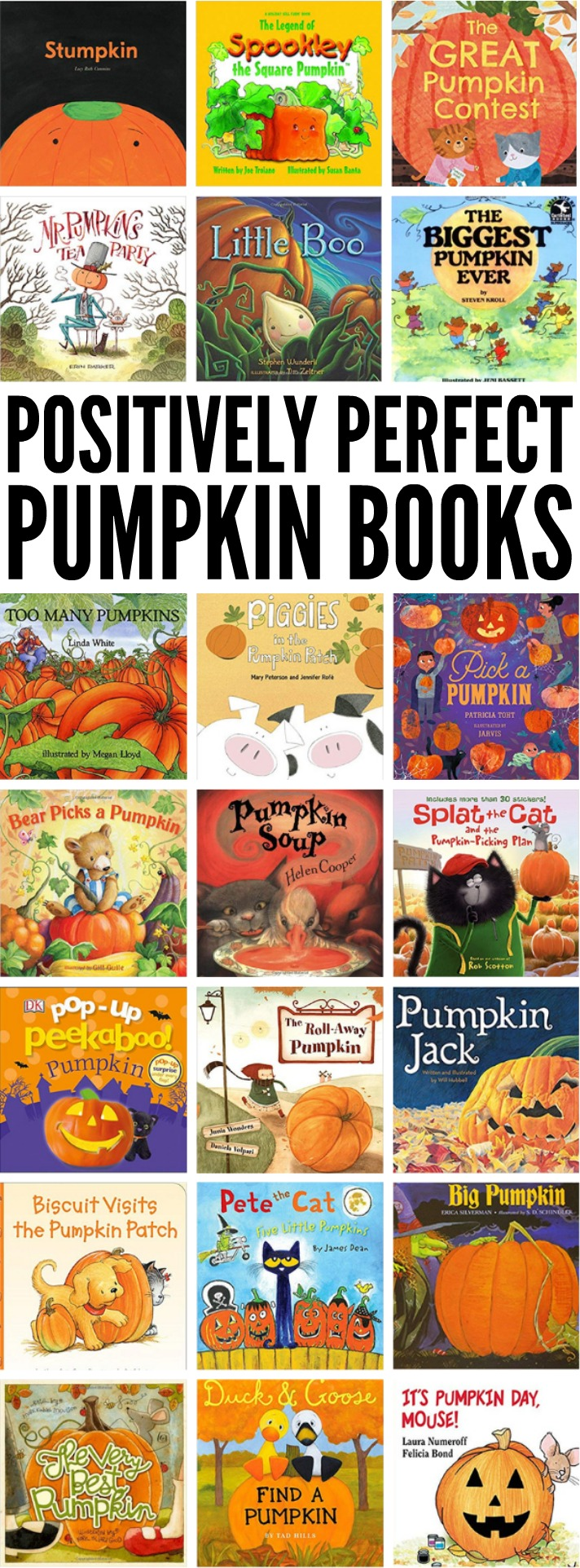 Celebrate Halloween with your little one by cozying up to an adorable seasonal read like any of these positively perfect pumpkin books!