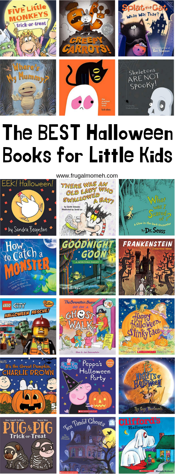 Get into the spirit of the season with a selection of the best Halloween books for little kids. These not-so-spooky reads are fun for little kids and sure to be a hit.