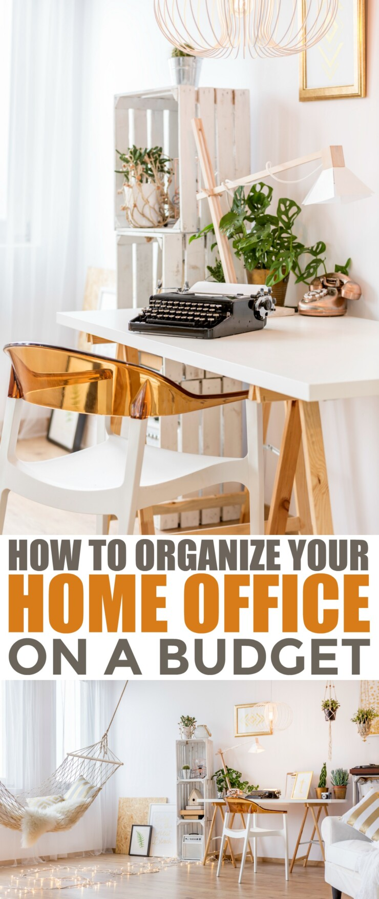 There are ways to ensure that your home office stays organized and clean without breaking the bank, you just have to be creative and invest some effort. How to Organize your home office on a budget.