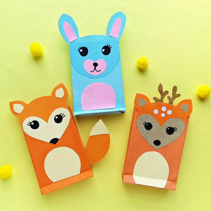 Woodland Animals Paper Craft
