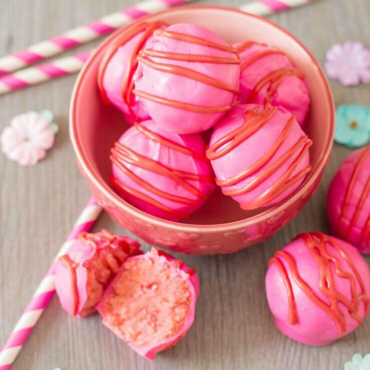Valentine's Day Cake Truffles