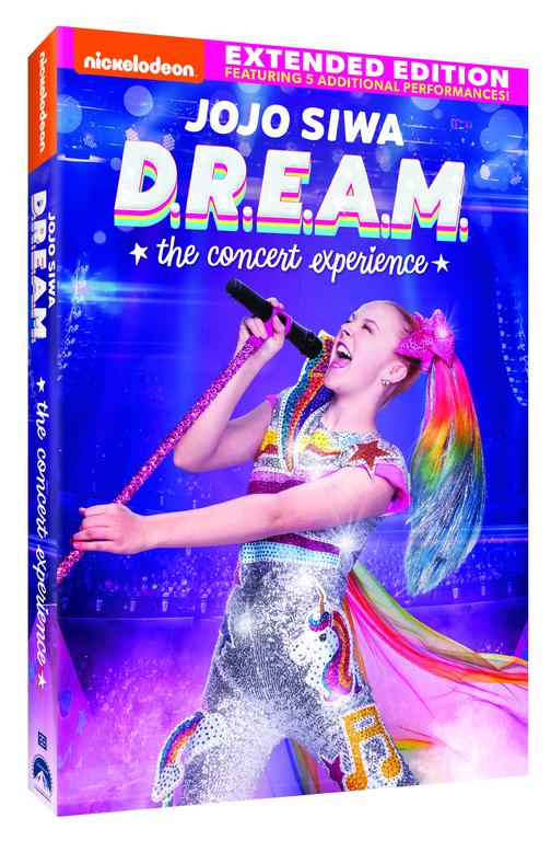 JoJo Siwa – D.R.E.A.M. – The Concert Experience DVD