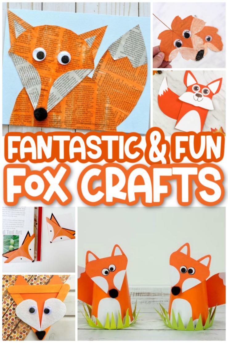 Fantastic Fox Crafts For Kids Frugal Mom Eh