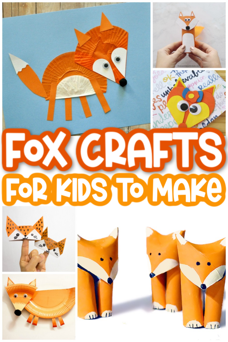 Foxes are, quite possibly, the cutest woodland animals, so it's no wonder that they're the subject of so many kids crafts! No matter what your child's age is, you'll find a fox craft that's perfect for their skill level!