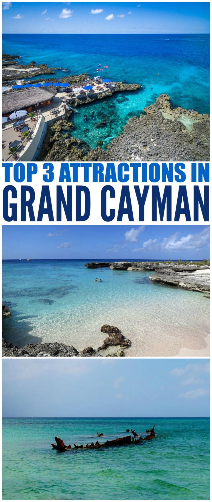 There are many things to do in Grand Cayman. However, in this article, Top 3 Things To Do In Grand Cayman, we will show the three most popular attractions. If you only have time to see a few spots, then these are three must do excursions you won't want to miss.