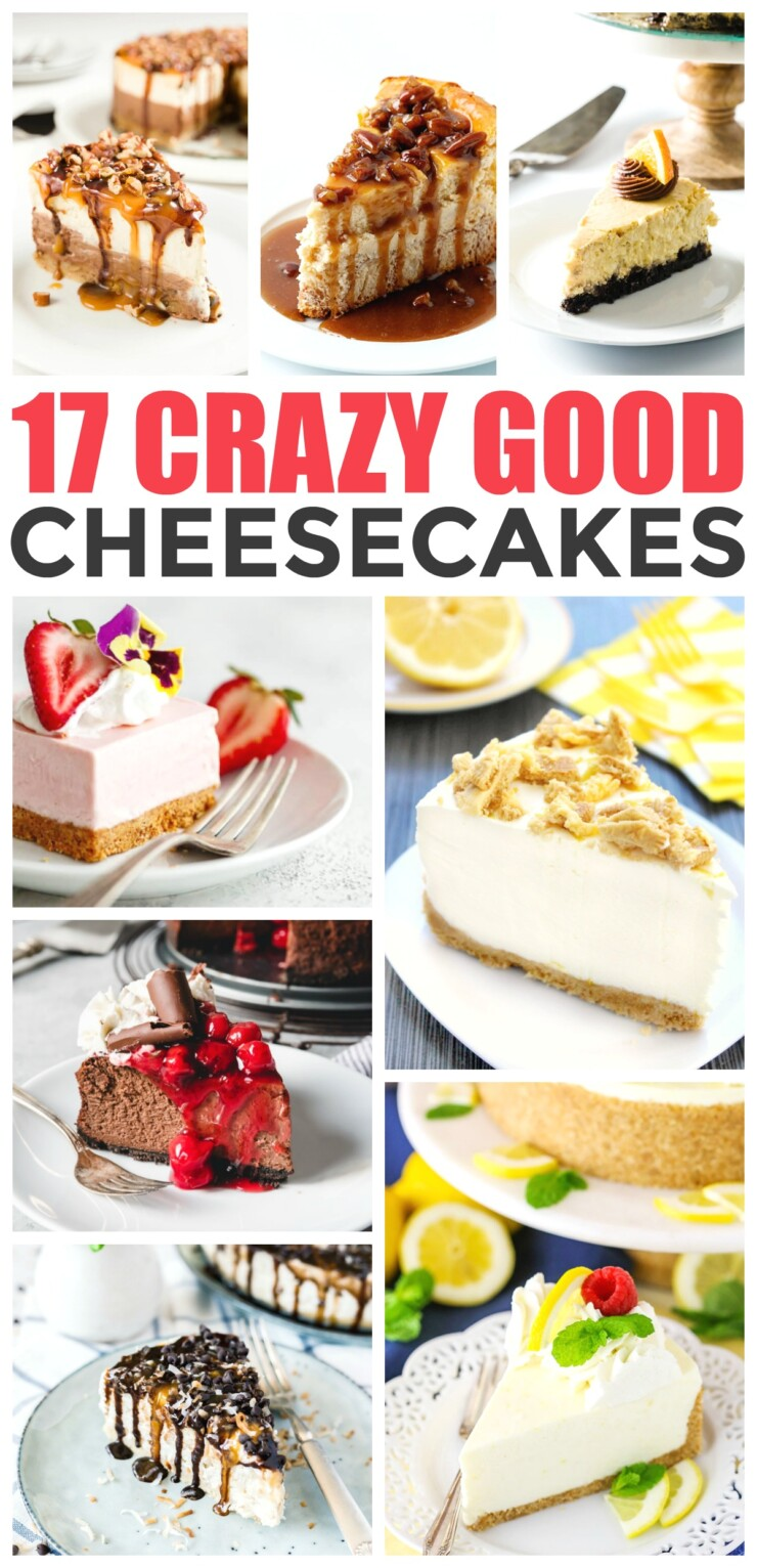 With a luscious and creamy top, and crunchy base, cheesecakes make for the perfect dessert with endless flavour combinations. From instant pot cheesecakes, to easy no bake options, here are 17 crazy good cheesecake recipes you just have to try.