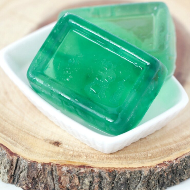 Coconut Lime Glycerin Soap
