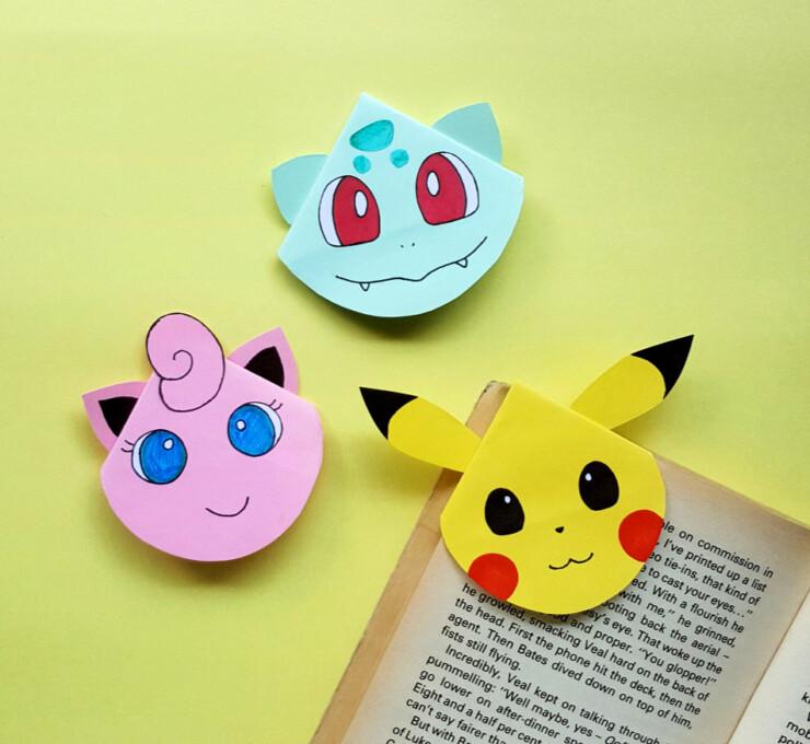Pokemon Corner Bookmarks