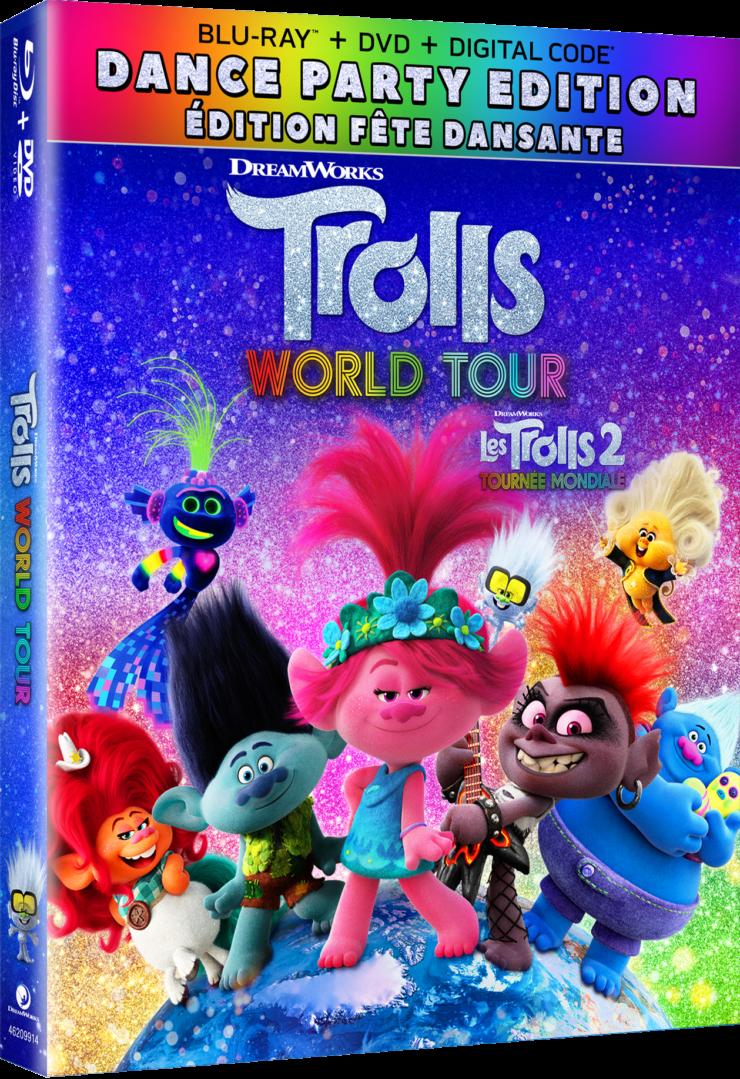 Trolls World Tour Dance Party Edition Blu-Ray