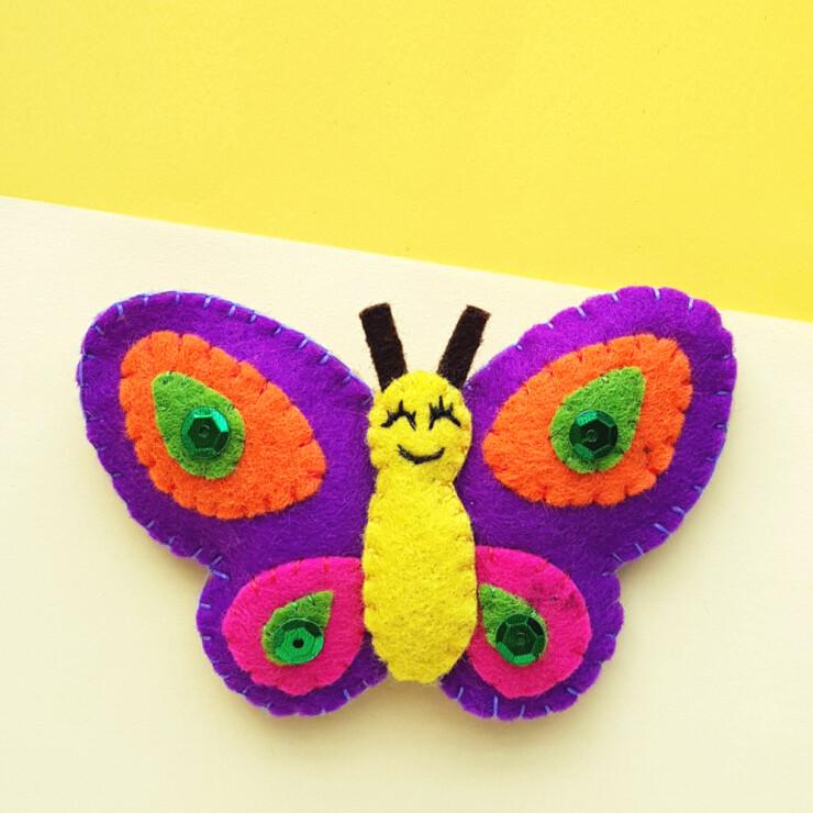 Felt Butterfly Plushie