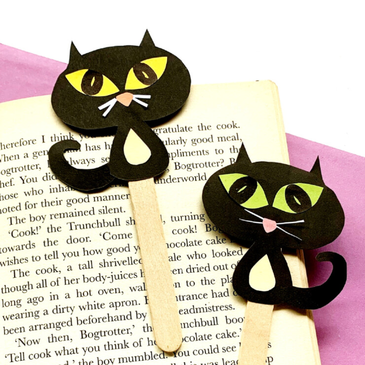 Cat Bookmarks
