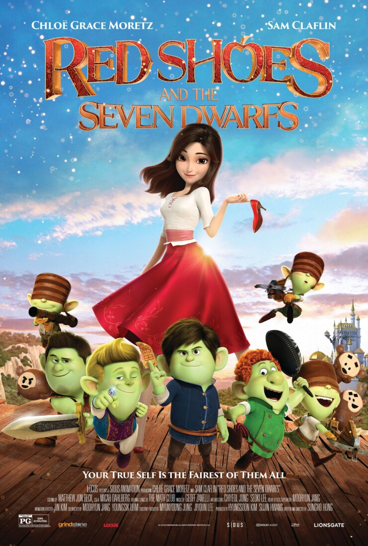 Red Shoes and the Seven Dwarfs Blu-ray