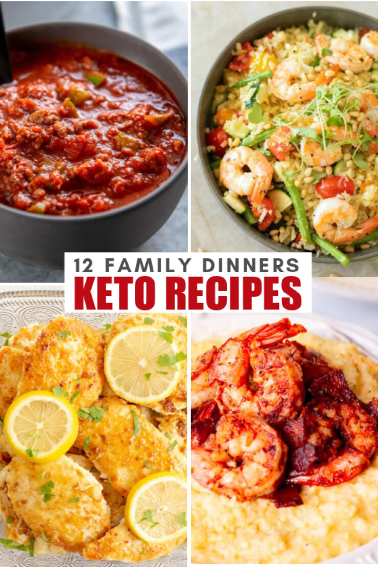 Keto family dinner recipes are perfect for any weeknight where you are looking to enjoy a delicious keto family meal.