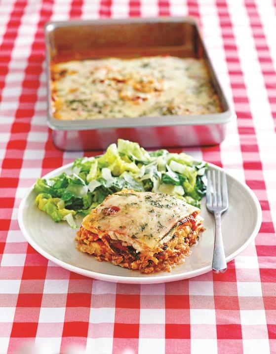 Lunch Line Lasagna