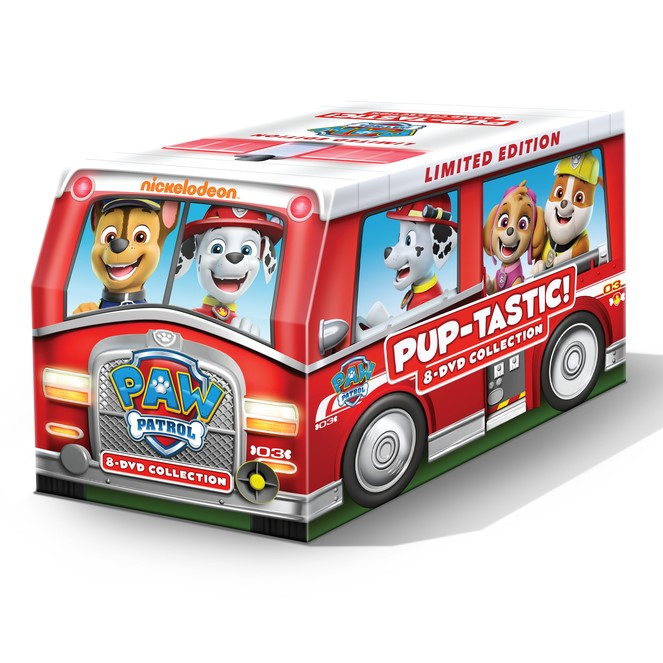 PAW Patrol: PUP-tastic! 8-DVD Collection Limited Edition Marshall's Fire Truck Giveaway