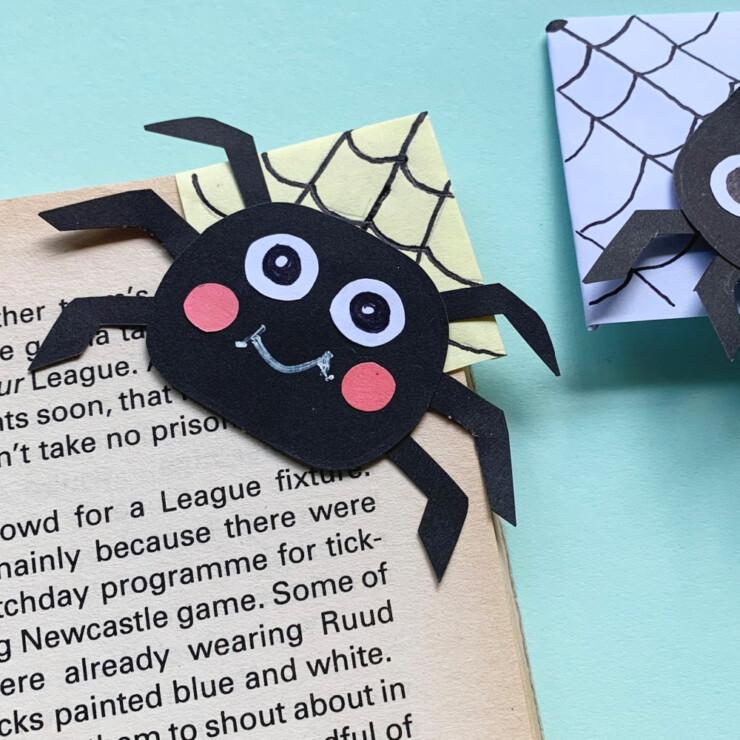 Spider Corner Bookmark