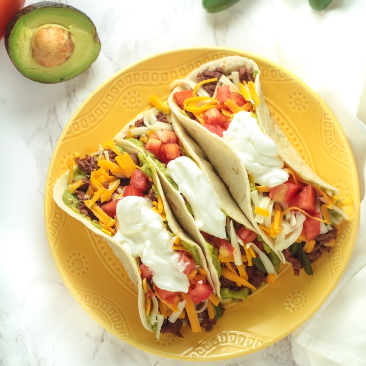 Baja Pork Tacos