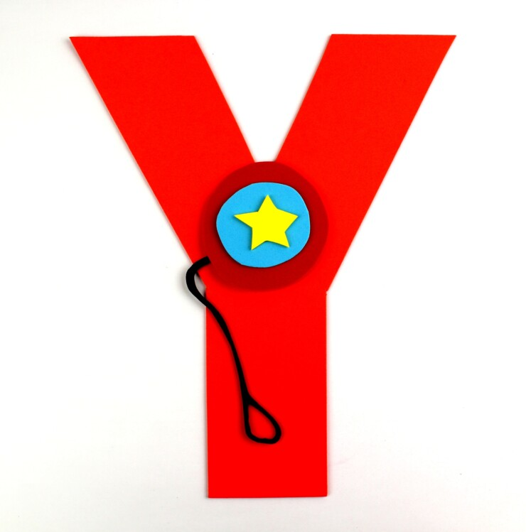 Alphabet Crafts For Kids: Y is for Yo-yo