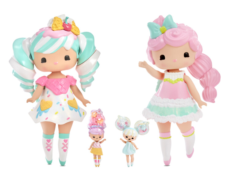 Secret Crush Large Dolls with Mini Doll Best Friends