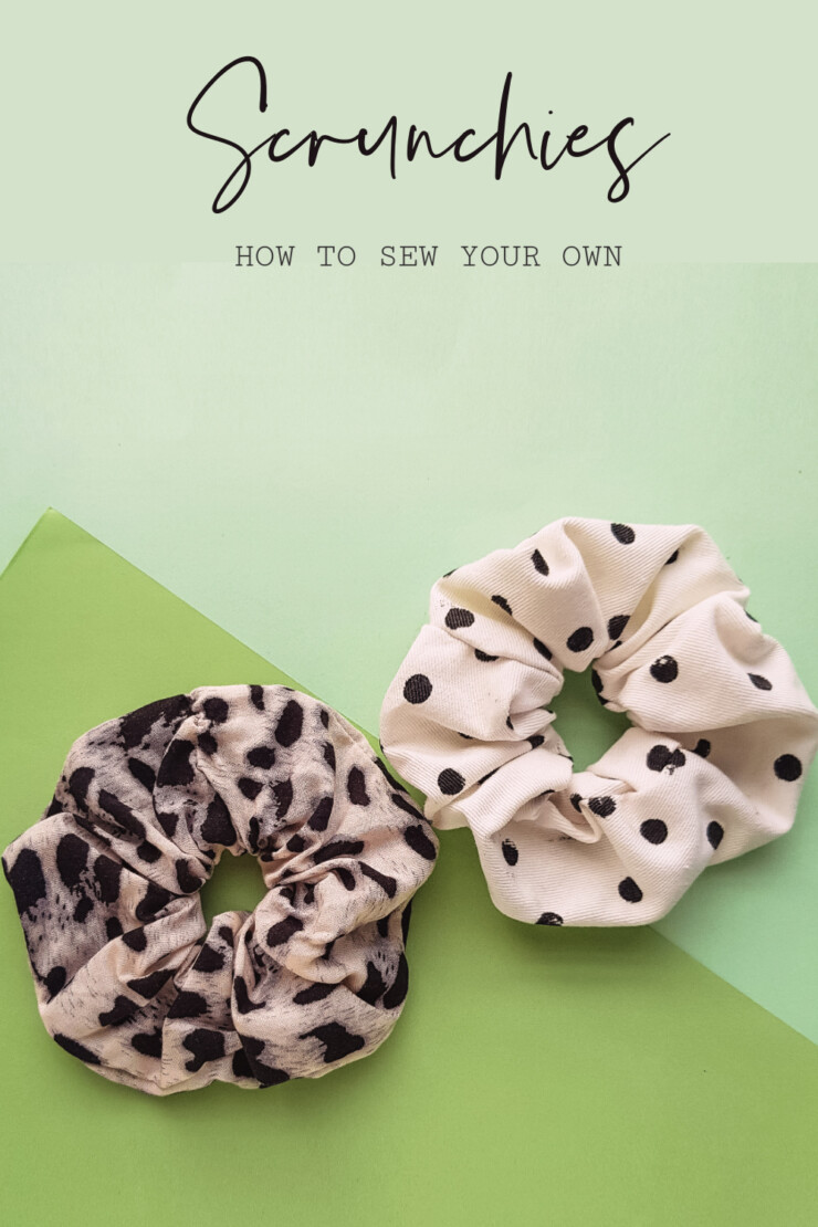 Learn How to make Scrunchies with this simple Sewing Project including easy to follow instructions with photos.