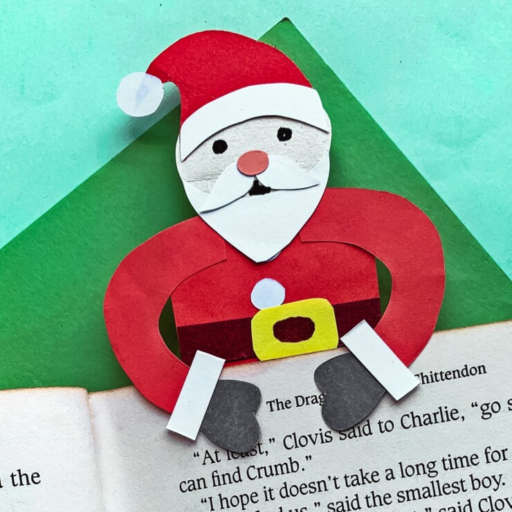 Santa Claus Bookmark