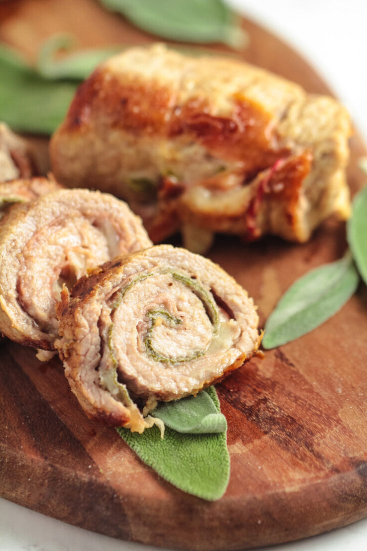 Veal Saltimbocca Roulades