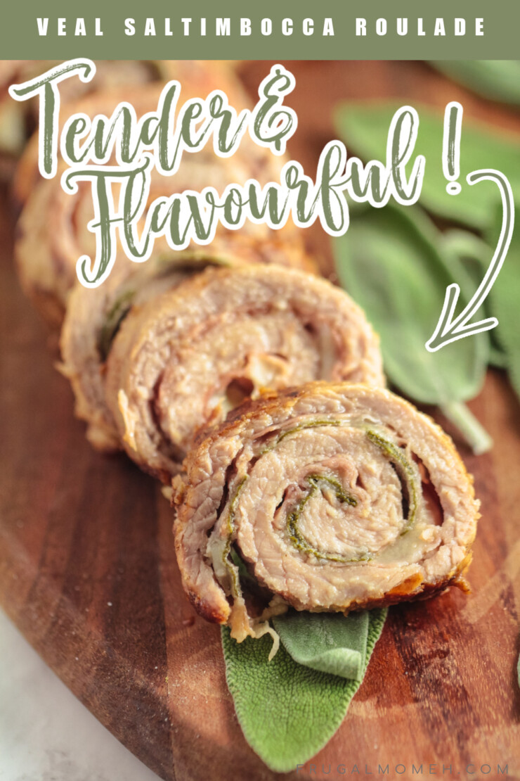 Tender and flavourful, nobody will believe that this Veal Saltimbocca Roulade comes together in just 15 minutes.