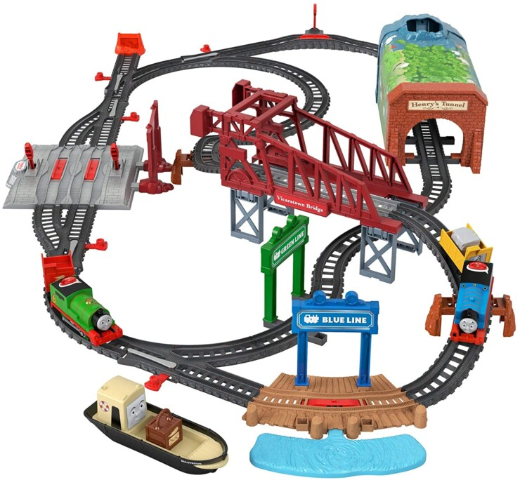 Fisher-Price® Thomas & Friends™ Talking Thomas & Percy Train Set