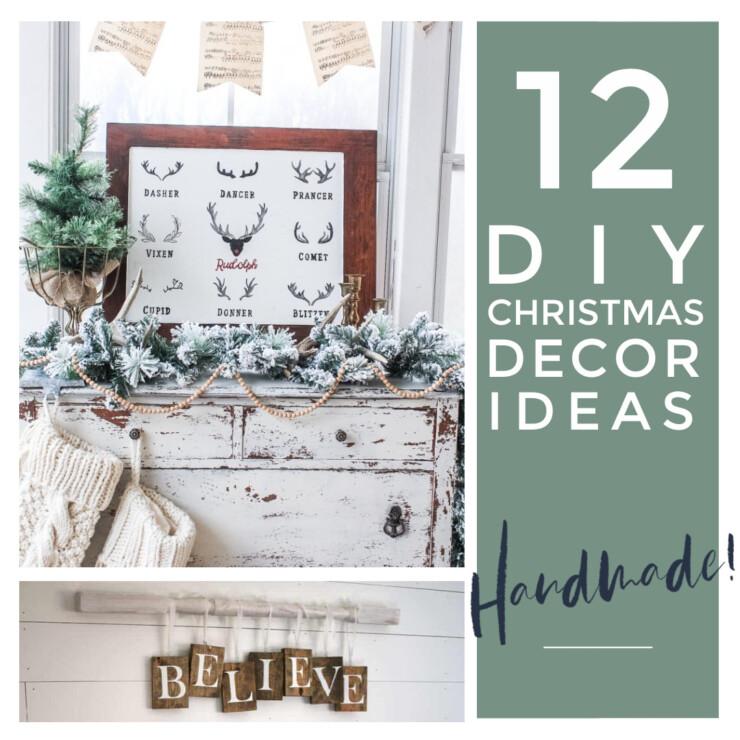 12 DIY Christmas Decorations